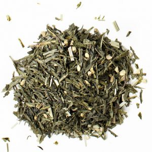 Ginger & Lemongrass Organic Green Tea - Loose Leaf