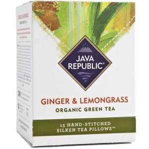 Ginger and Lemongrass Organic Green Tea
