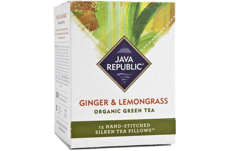 Ginger and Lemongrass Organic Green Tea