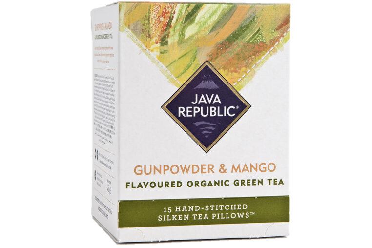 Gunpowder and Mango Organic Green Tea