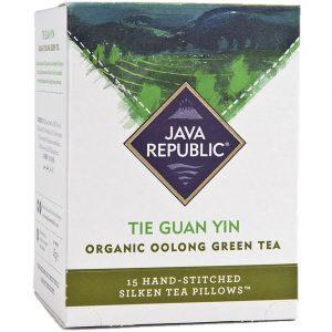 Tie Guan Yin Organic Oolong Green Tea