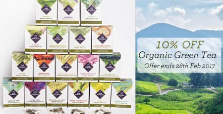Organic Green Tea Offer