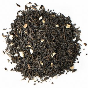 Orange and Almond Decaf Black Tea Leaves