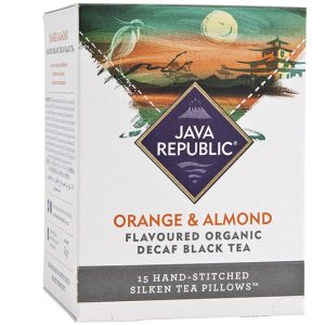 Orange and Almond Flavoured Organic Decaf Black Tea