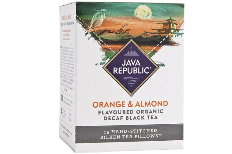Orange and Almond Flavoured Organic Decaf Black Tea