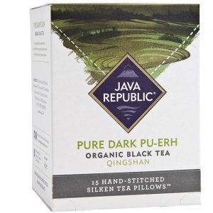 Pure Dark Pu-erh Organic Black Tea