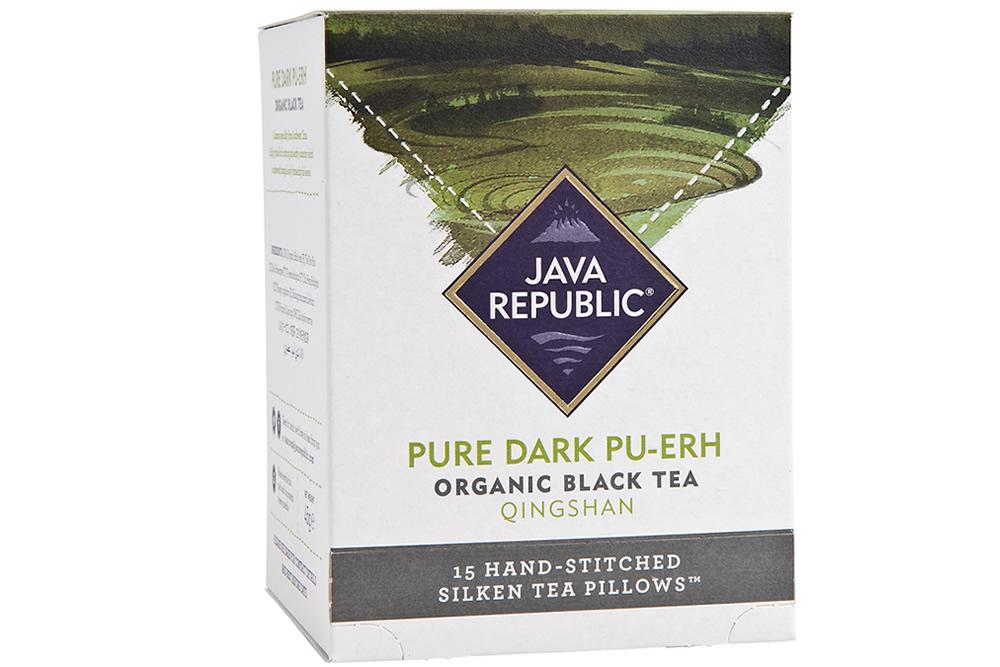 Pure Dark Pu-erh Organic Black Tea  Pure Dark Pu-er...