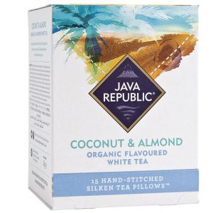 Coconut and Almond Organic Flavoured White Tea