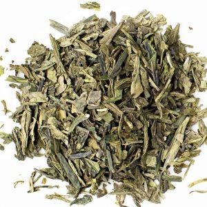 Green Tea Dragon Well Leaves