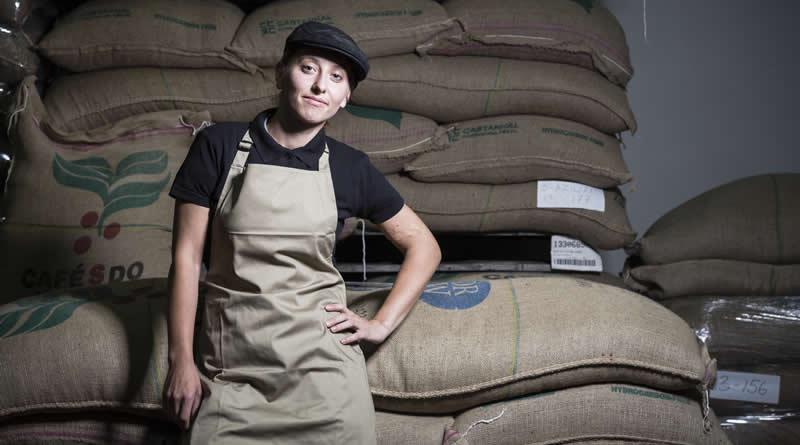 Jolanta Pudo - Coffee Roaster