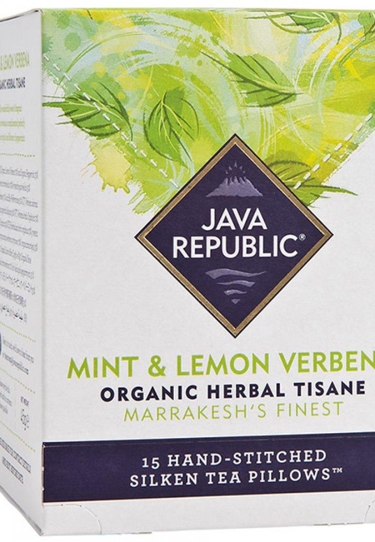 Mint and Lemon Verbena Organic Herbal Tea