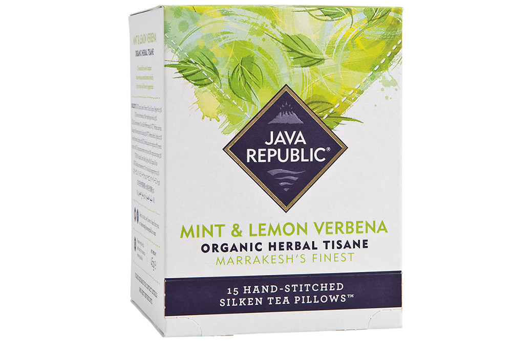 Mint and Lemon Verbena Organic Herbal Tea