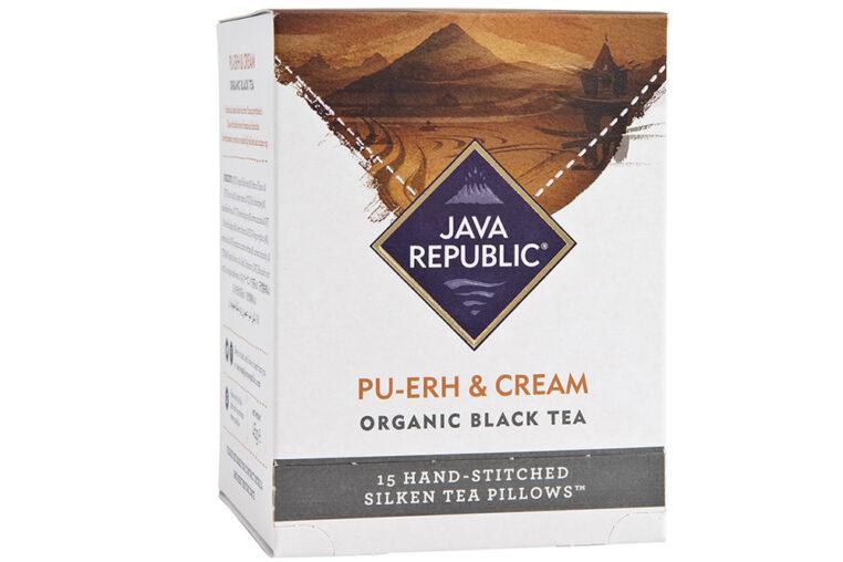Pu-erh and Cream Organic Black Tea