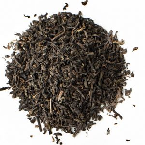 Pu-erh and Cream Organic Black Tea Leaves