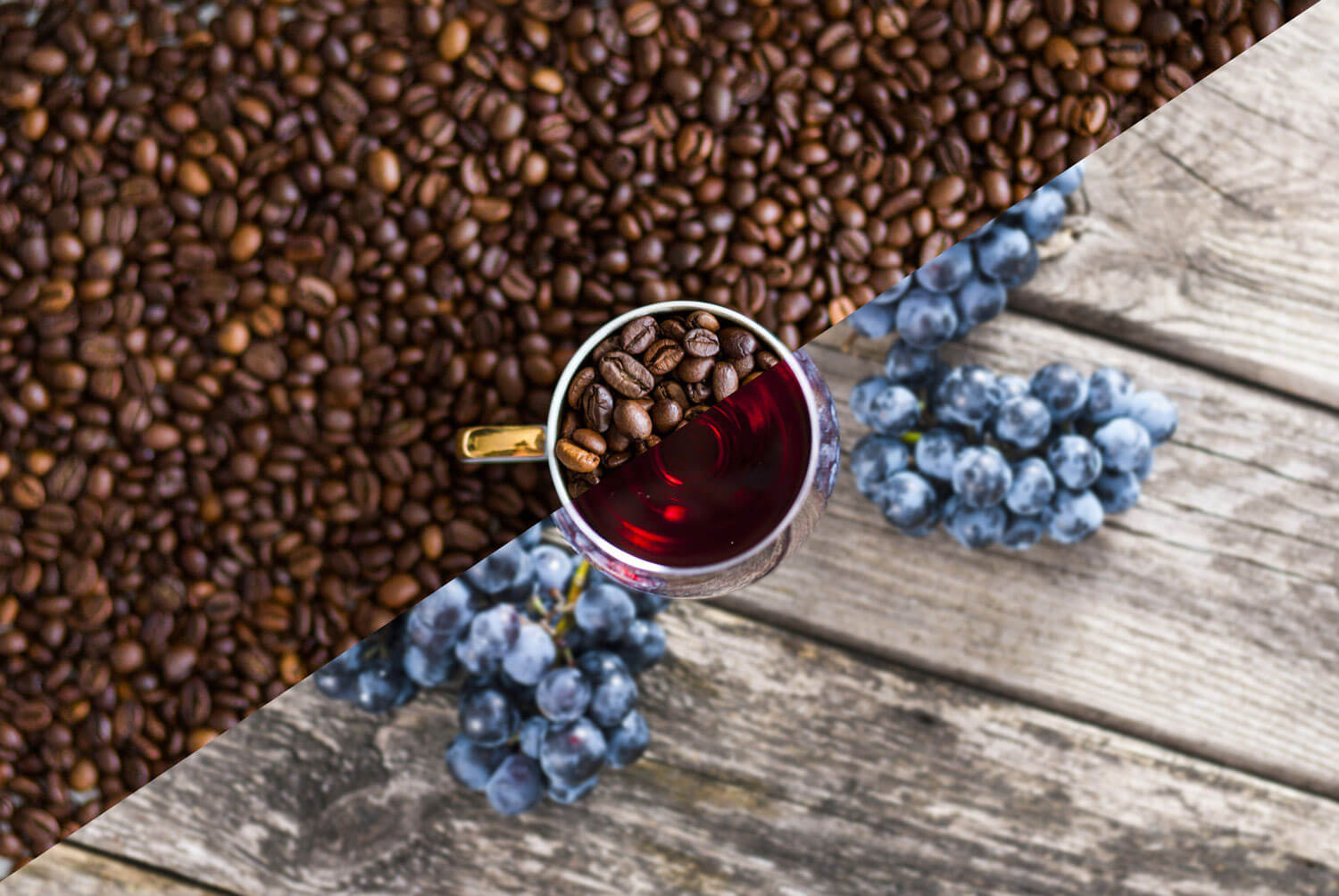 coffee-beans-and-grapes