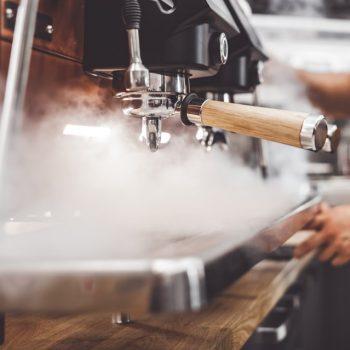 barista machine with steam
